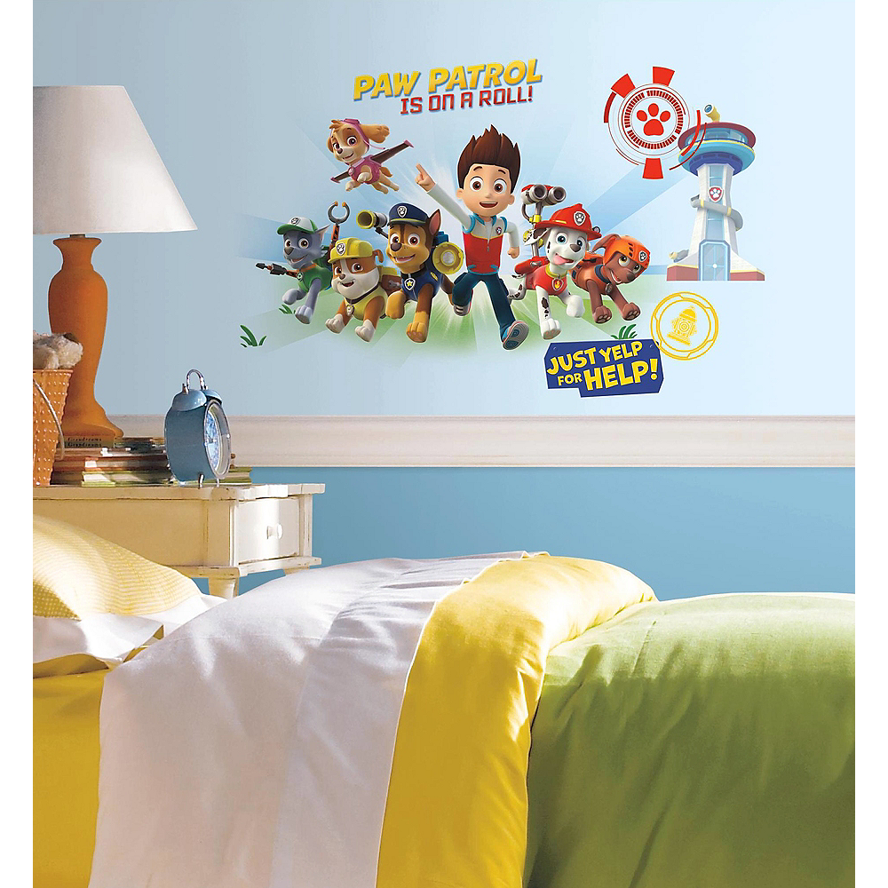 Nav Item for PAW Patrol Wall Decals 6ct Image #1