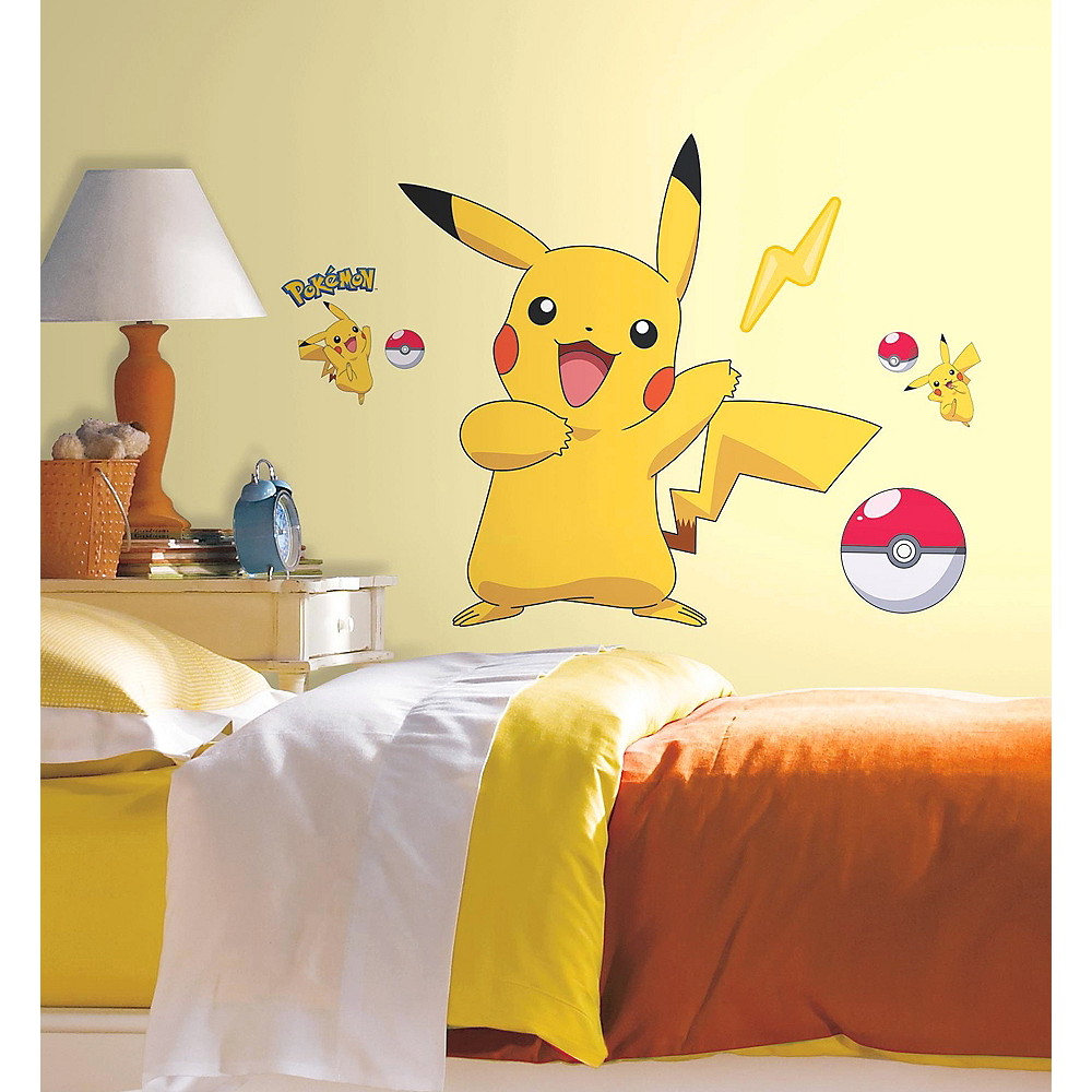 Pokemon Wall Decals 12ct | Party City Canada