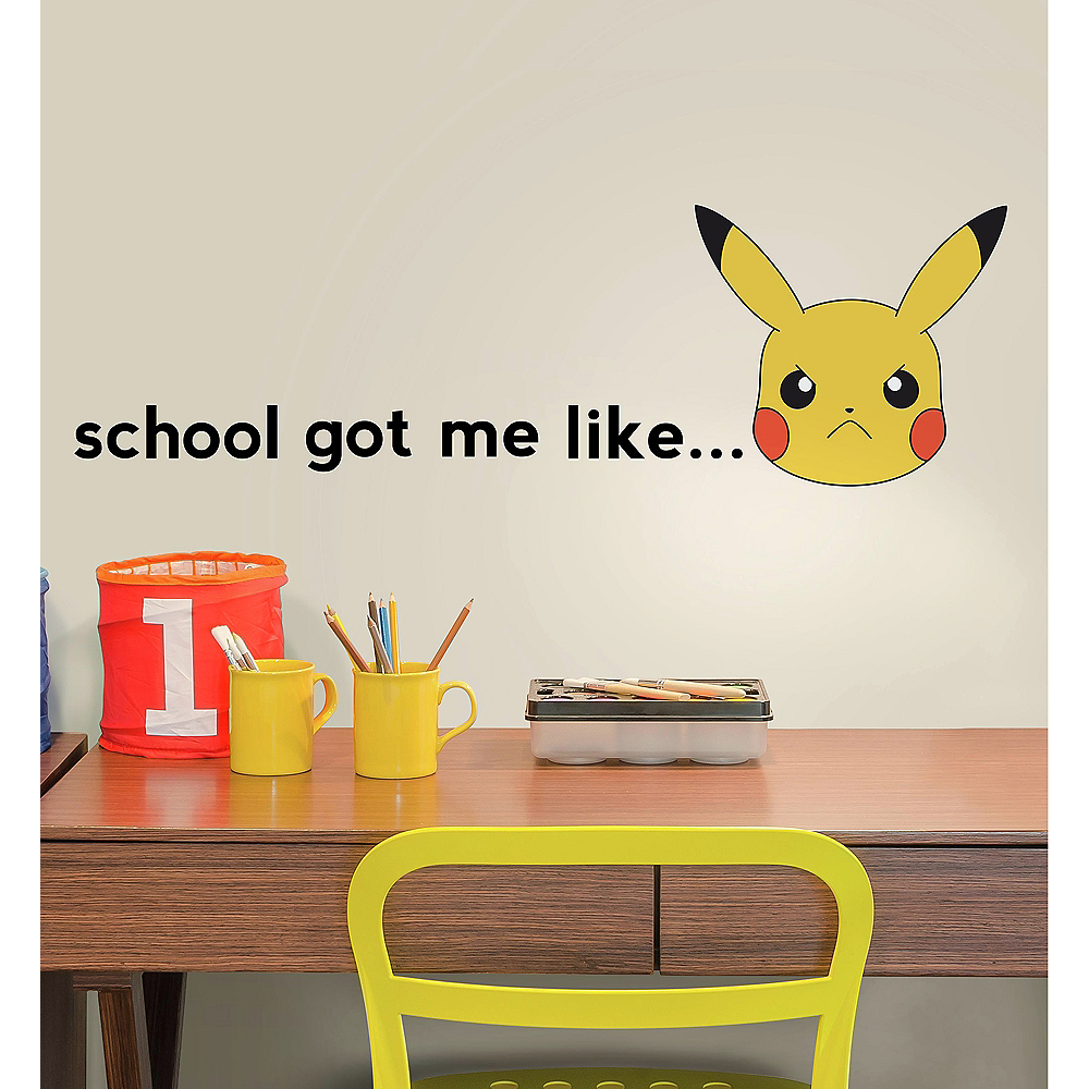 Pokemon Wall Decals 12ct Image #1