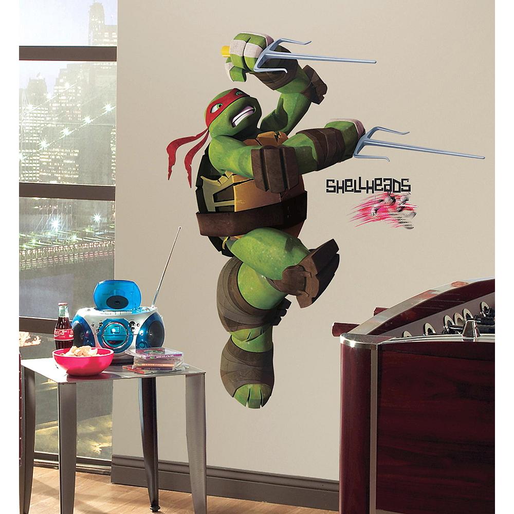 Raphael Wall Decals 15pc - Teenage Mutant Ninja Turtles Image #1