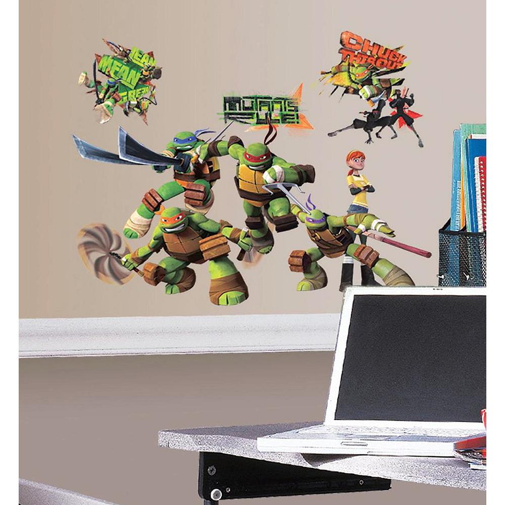 Teenage Mutant Ninja Turtles Wall Decals 30ct Image #1
