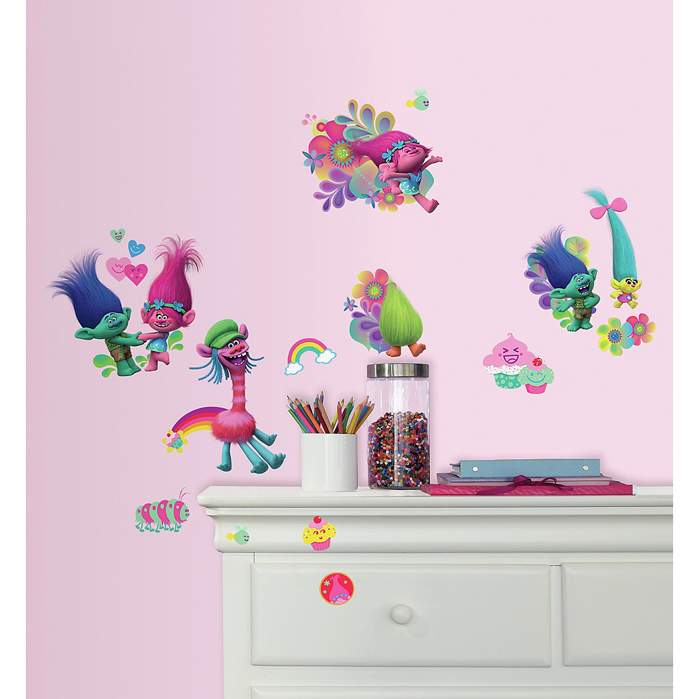 Trolls Wall Decals 24ct Image #1