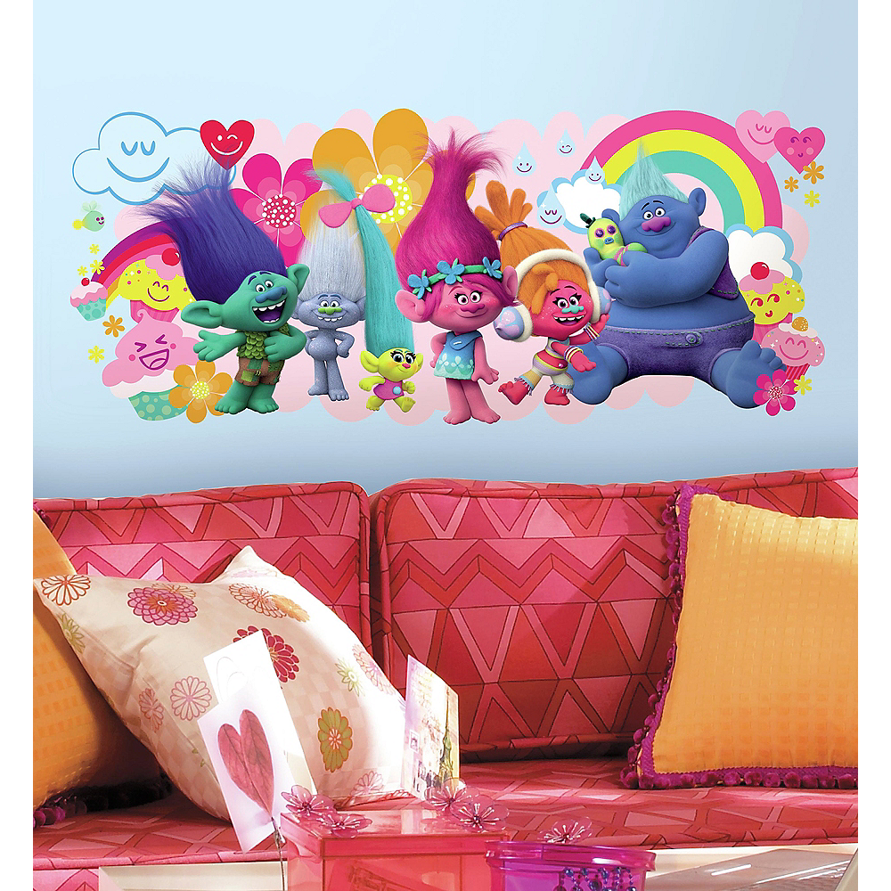 Nav Item for Trolls Wall Decal Image #1