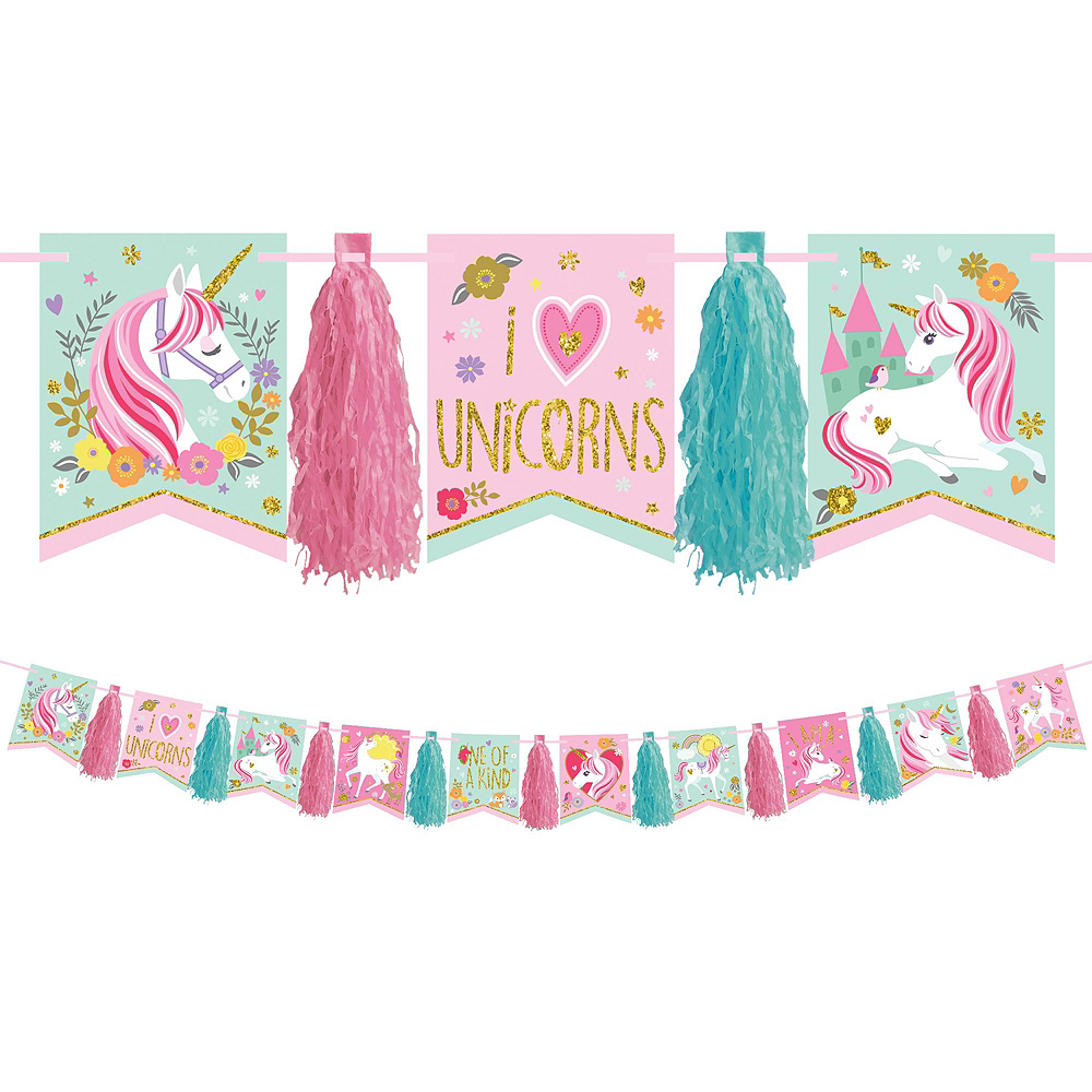 Magical Unicorn Tableware Party Kit for 16 Guests Image #10