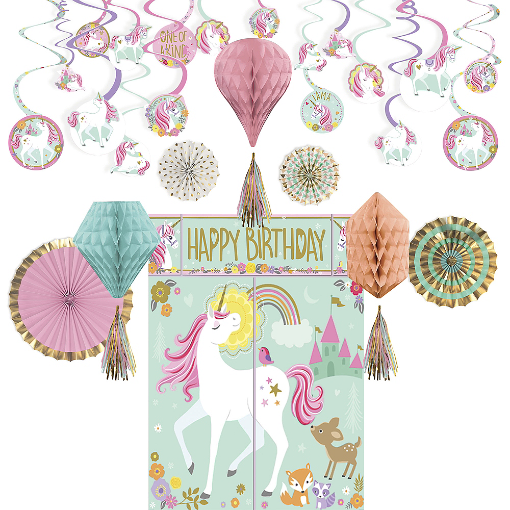 Magical Unicorn Decorating Kit Image 1