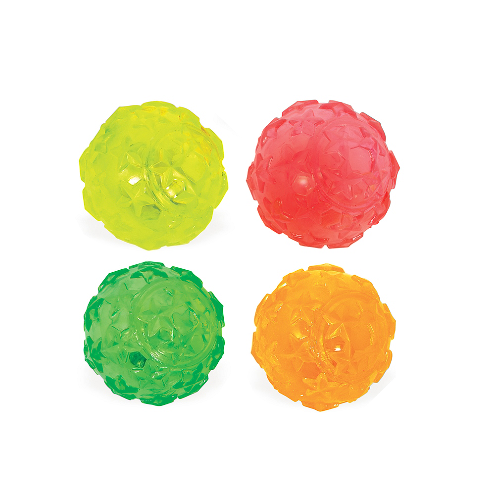 Light-Up Star Bounce Ball Image #1