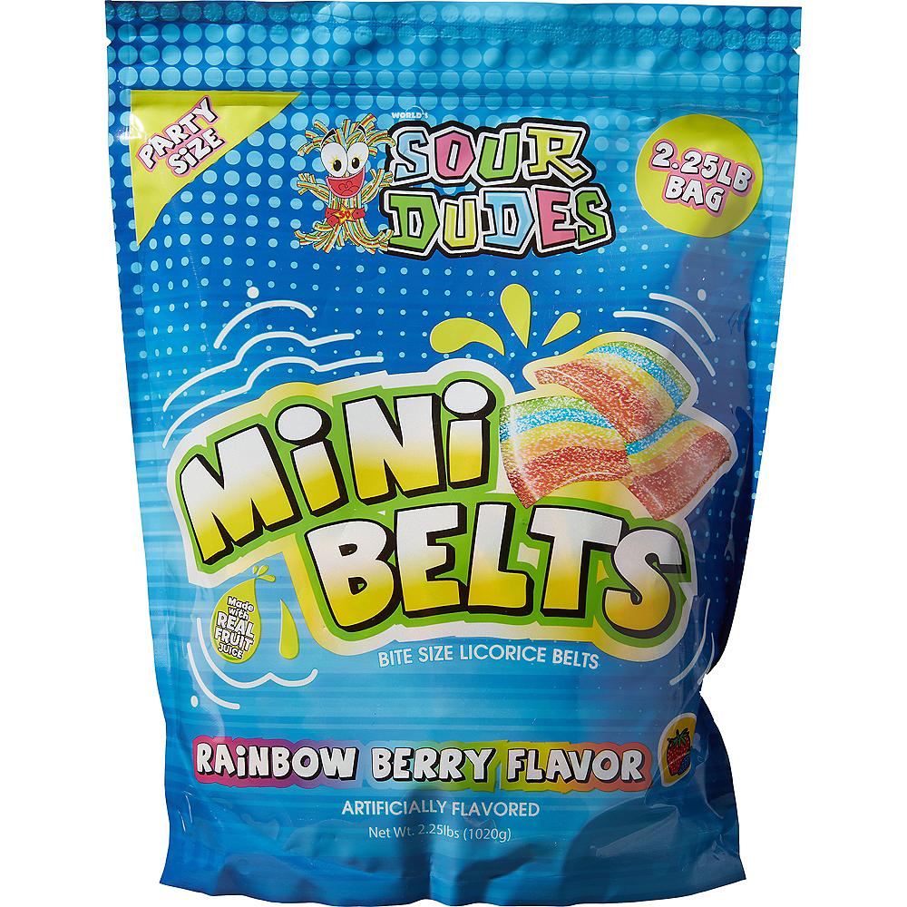 Sour Dudes Mini Belts Bite Size Licorice 290pc Image #1