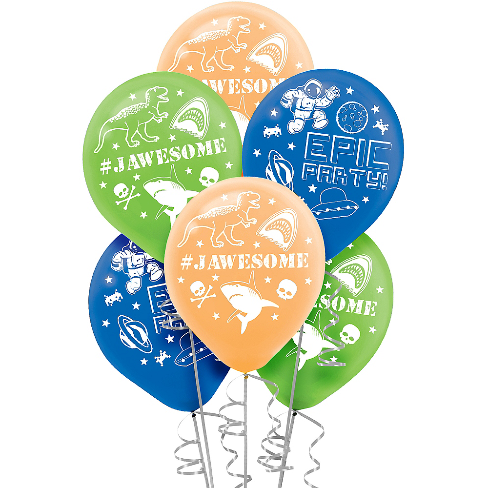 Epic Party Balloons 6ct Image #1