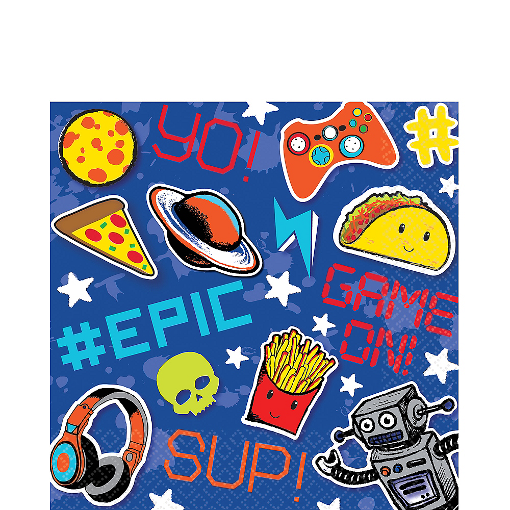 Epic Party Lunch Napkins 16ct Image #1