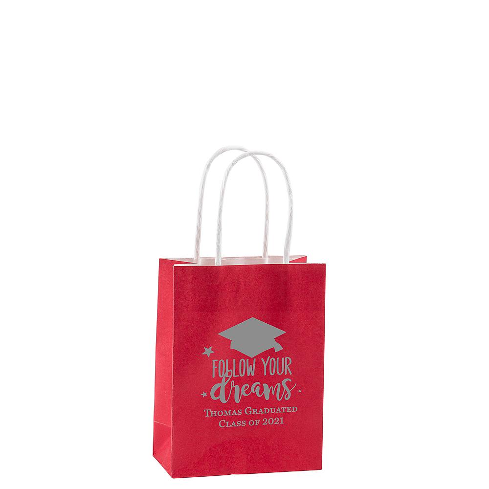 Personalized Small Graduation Kraft Bags  Image #1