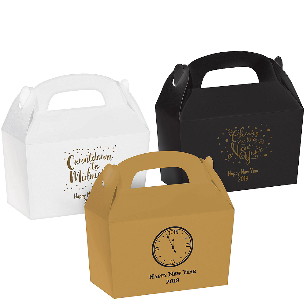 personalized new years gable boxes