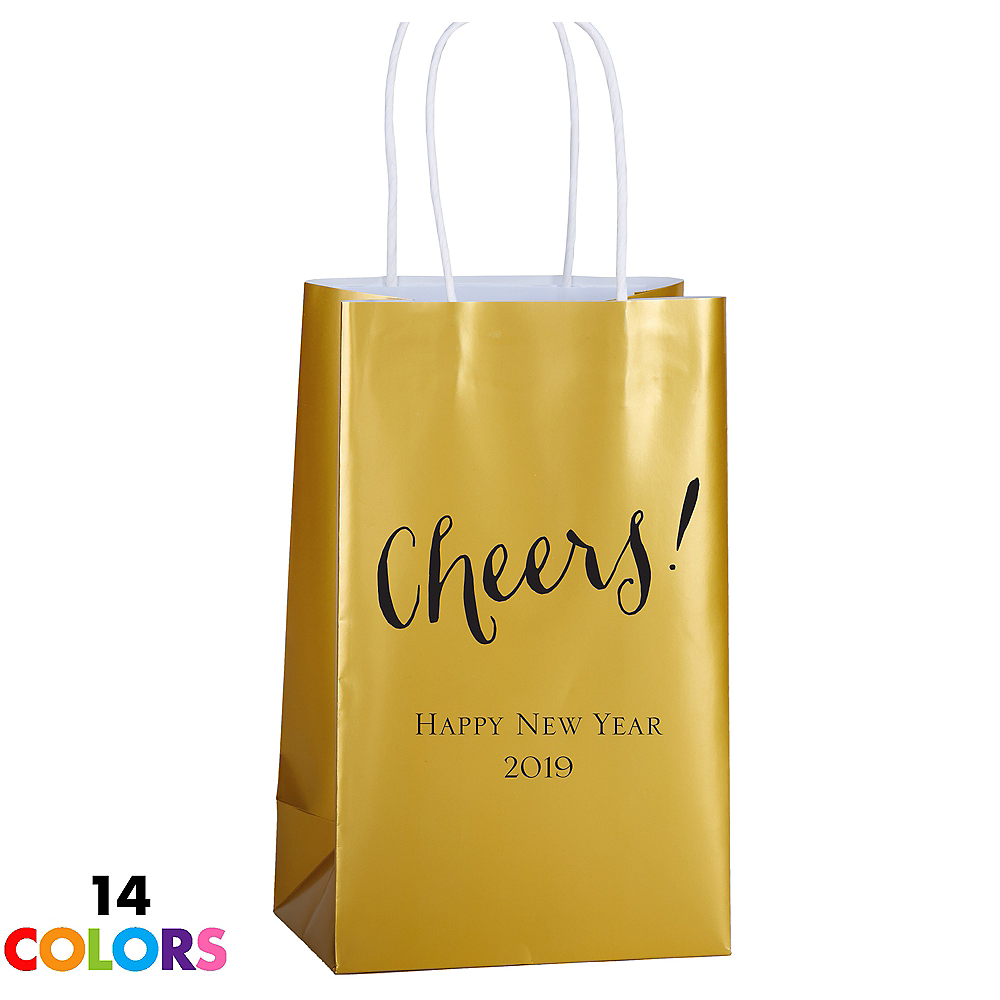 Personalized Medium Wedding Kraft Bags Image #1