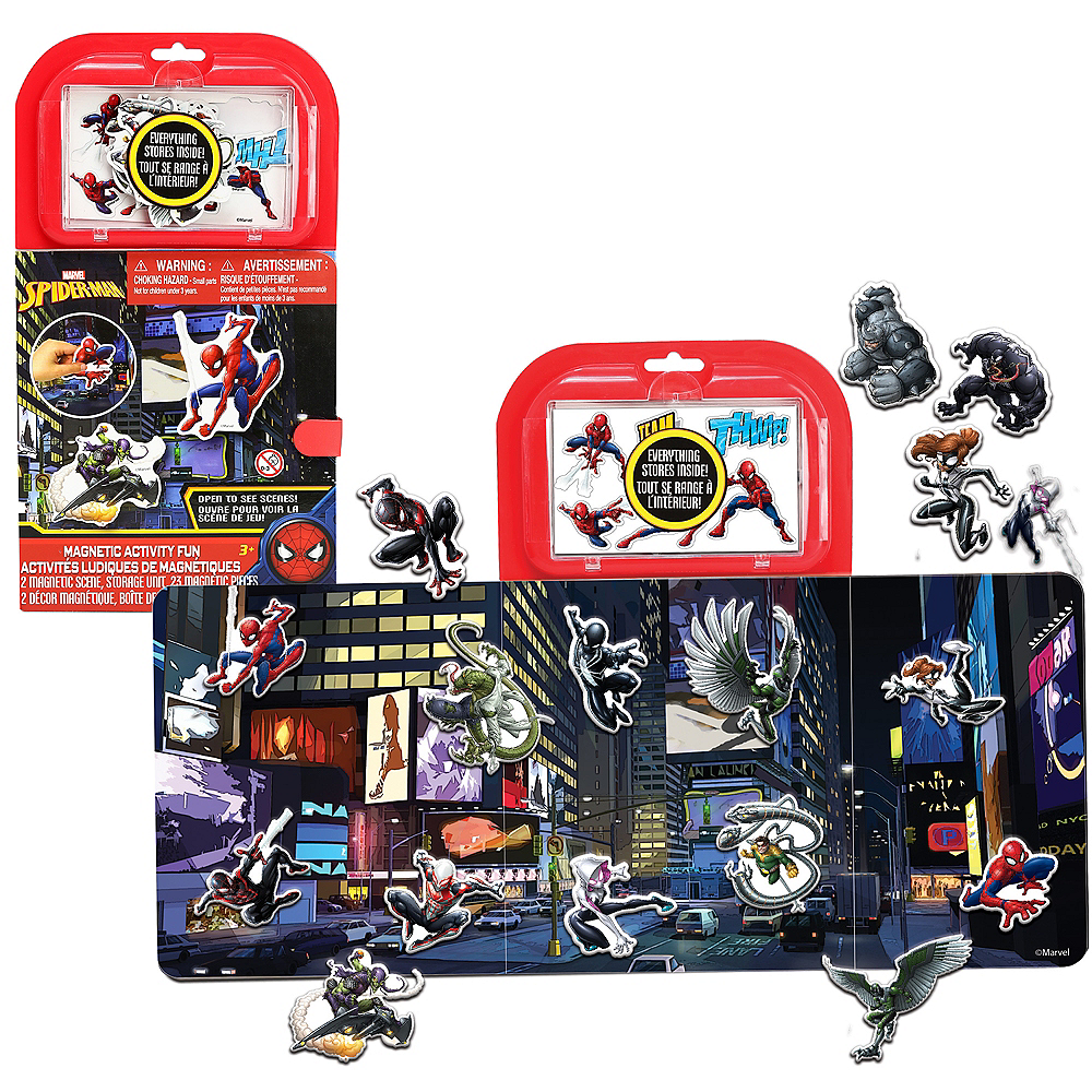 Spider-Man Magnet Activity Kit Image #1