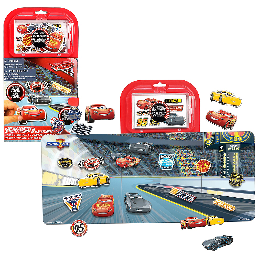 Cars 3 Magnet Activity Kit Image #1