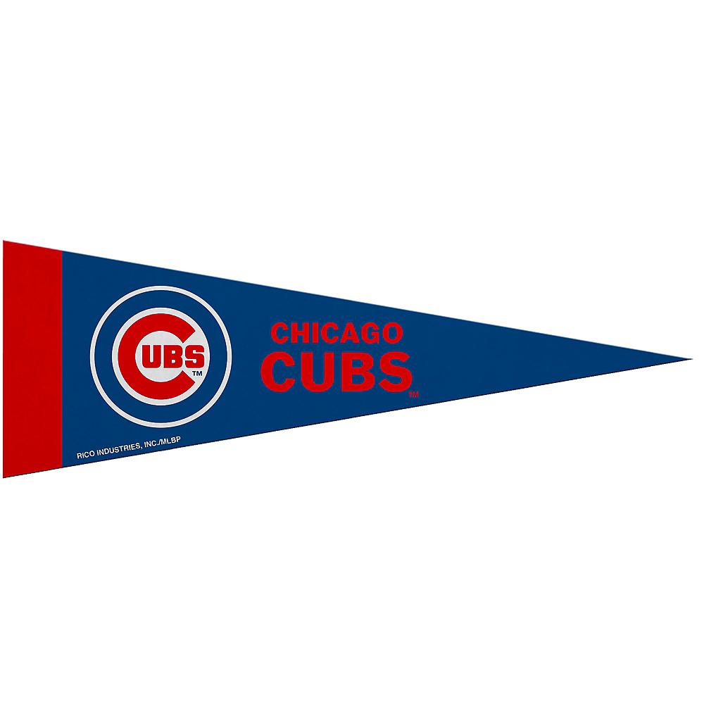 Medium Chicago Cubs Pennant Flag Image #1
