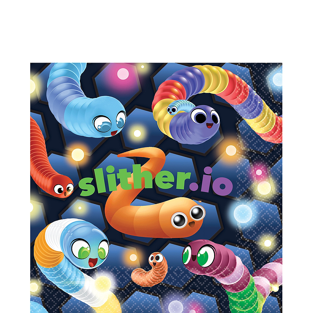 Slither.io Lunch Napkins 16ct Image #1