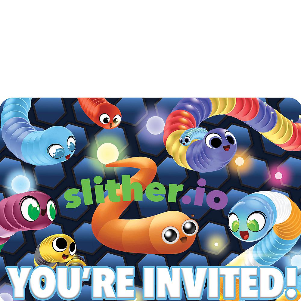 Slitherio Invitations 8ct