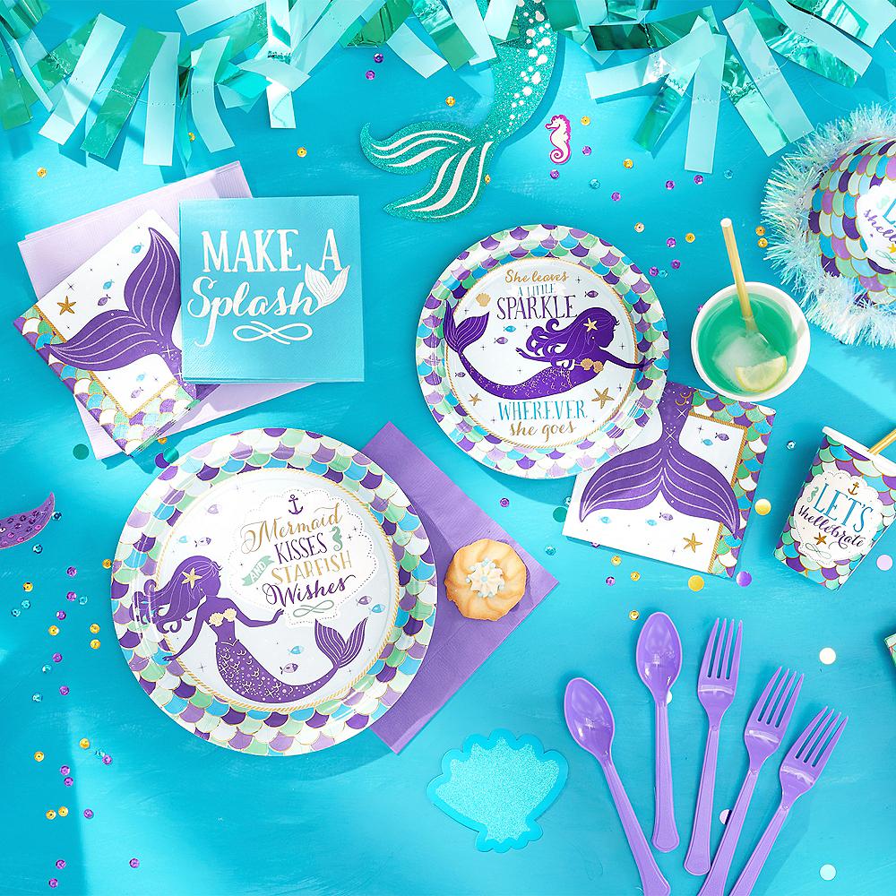 Wishful Mermaid Cups 8ct Image #3