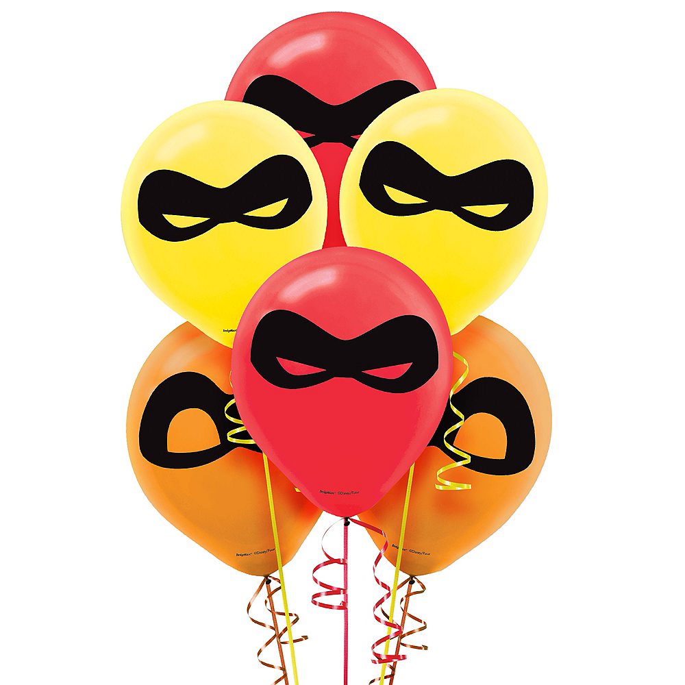 Incredibles 2 Balloons 6ct Image #1