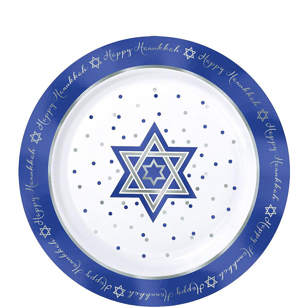 Happy Hanukkah Premium Tableware Kit for 20 Guests Image #2
