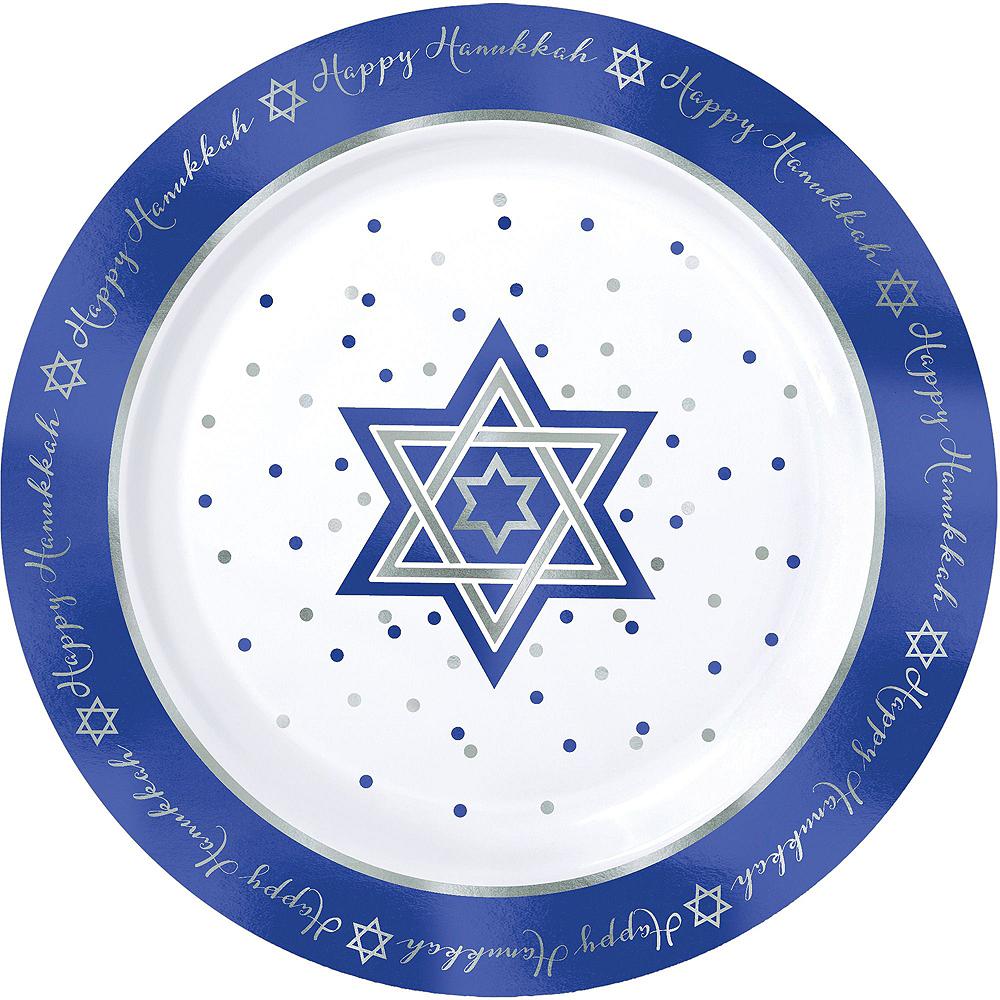 Happy Hanukkah Premium Tableware Kit for 20 Guests Image #3