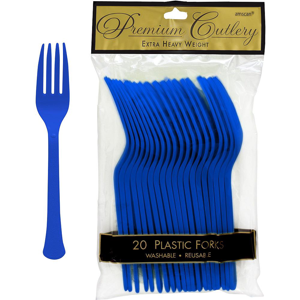 Happy Hanukkah Premium Tableware Kit for 20 Guests Image #9