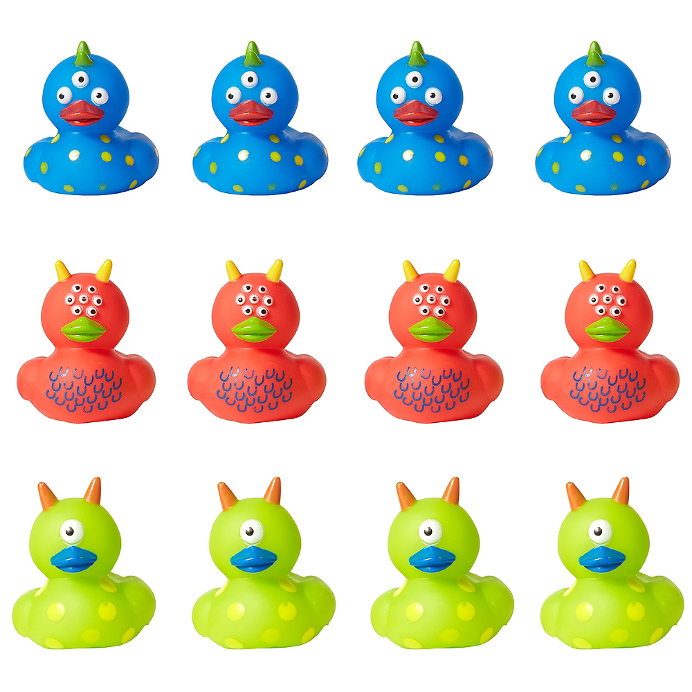 Monster Rubber Duckies 18ct | Party City