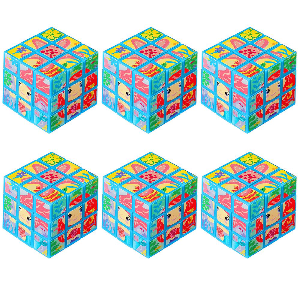 Mermaid Puzzle Cubes 6ct Image #1