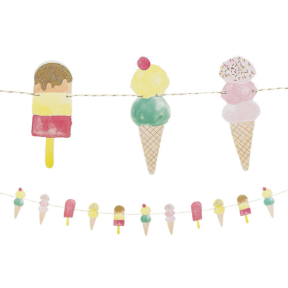 Ice Cream Garland Image #1