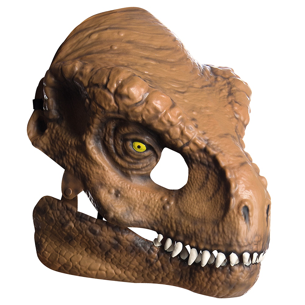 Adult T-Rex Mask with Moving Mouth - Jurassic World: Fallen Kingdom Image #1