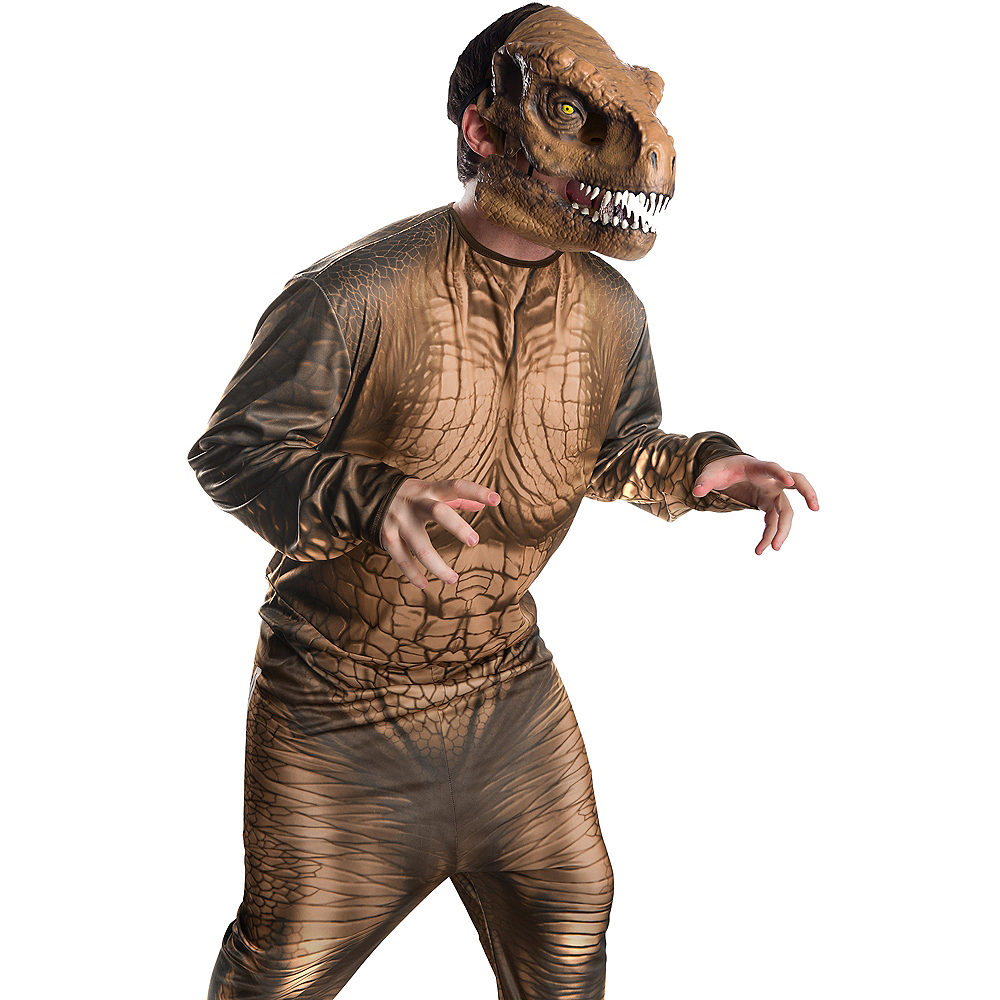 Adult T-Rex Mask with Moving Mouth - Jurassic World: Fallen Kingdom Image #2