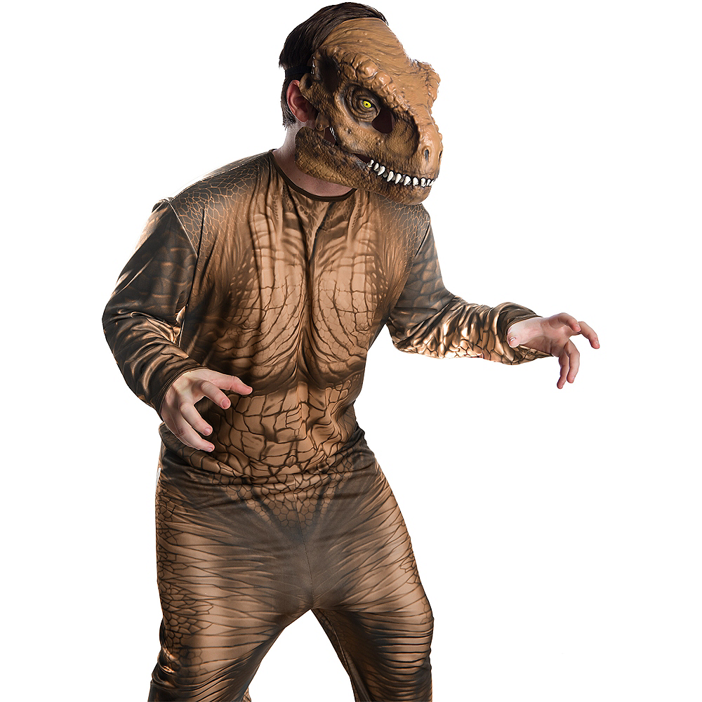 Adult T-Rex Mask with Moving Mouth - Jurassic World: Fallen Kingdom Image #3