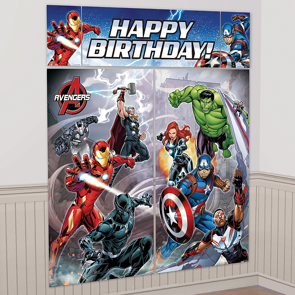 Avengers Scene Setter with Photo Booth Props Image #2