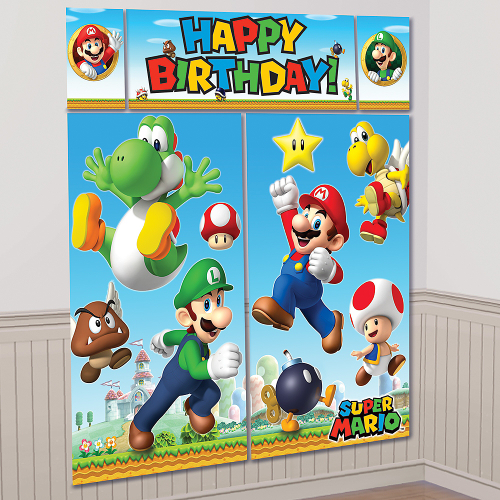 Nav Item for Super Mario Scene Setter with Photo Booth Props Image #2