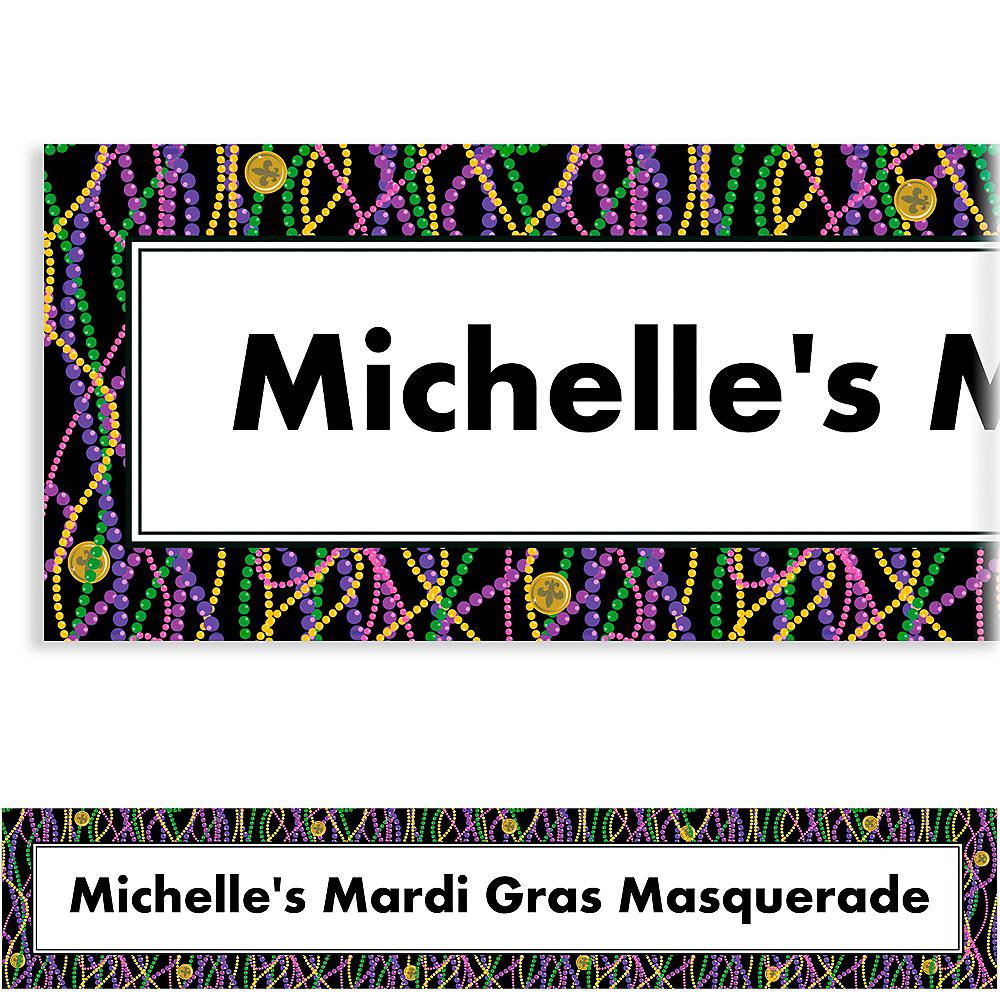 Custom Mardi Gras Masks Banner Image #1