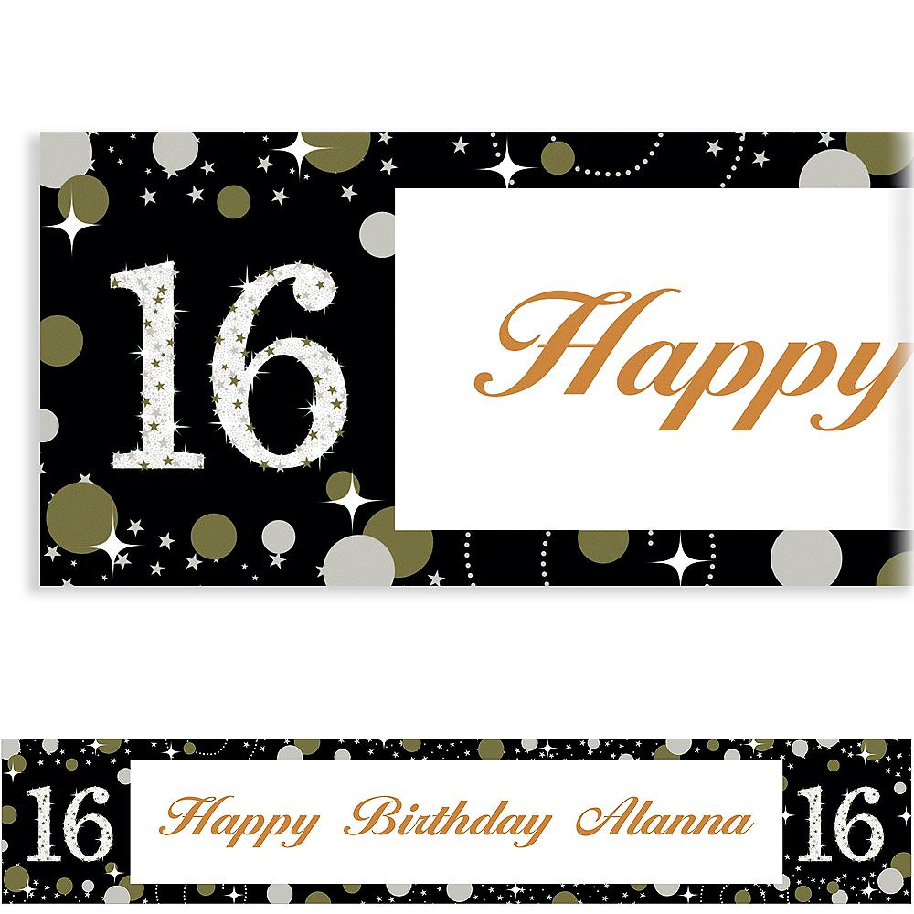 Custom Sparkling Celebration 16 Banner Image #1