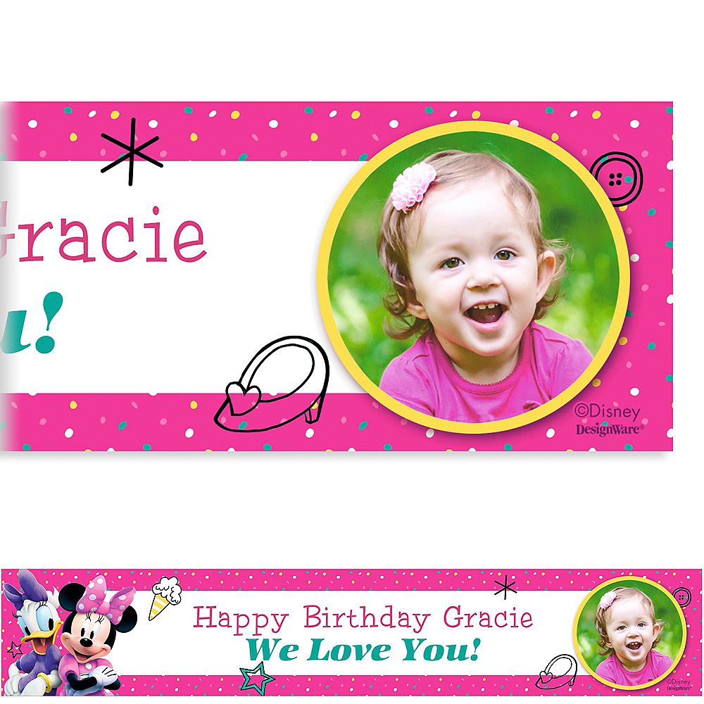 Custom Minnie's Happy Helpers Photo Banner Image #1