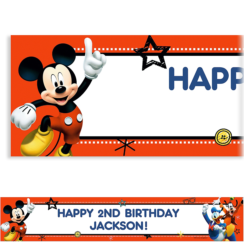 Custom Mickey On The Go Banner Image #1