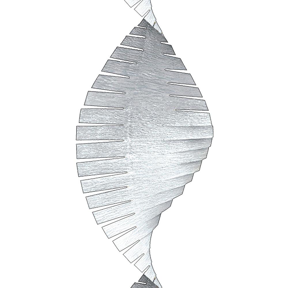 White Fringe Streamer Image #2
