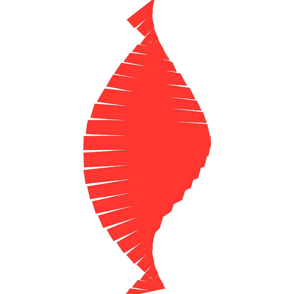 Apple Red Fringe Streamer Image #2