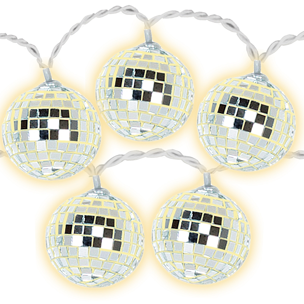 Disco Ball LED String Lights Image #1