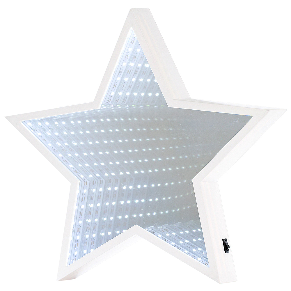 Light-Up Star Mirror Sign Image #1