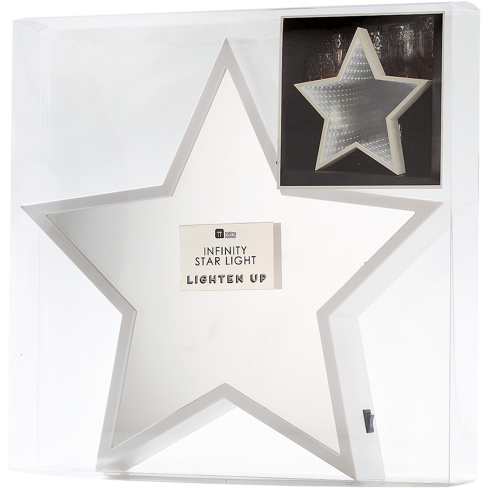 Light-Up Star Mirror Sign Image #2