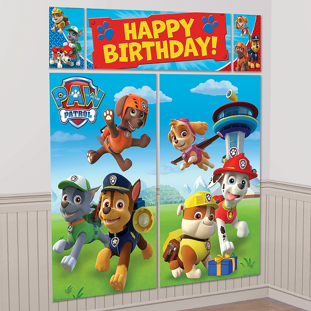 PAW Patrol Scene Setter with Photo Booth Props Image #2