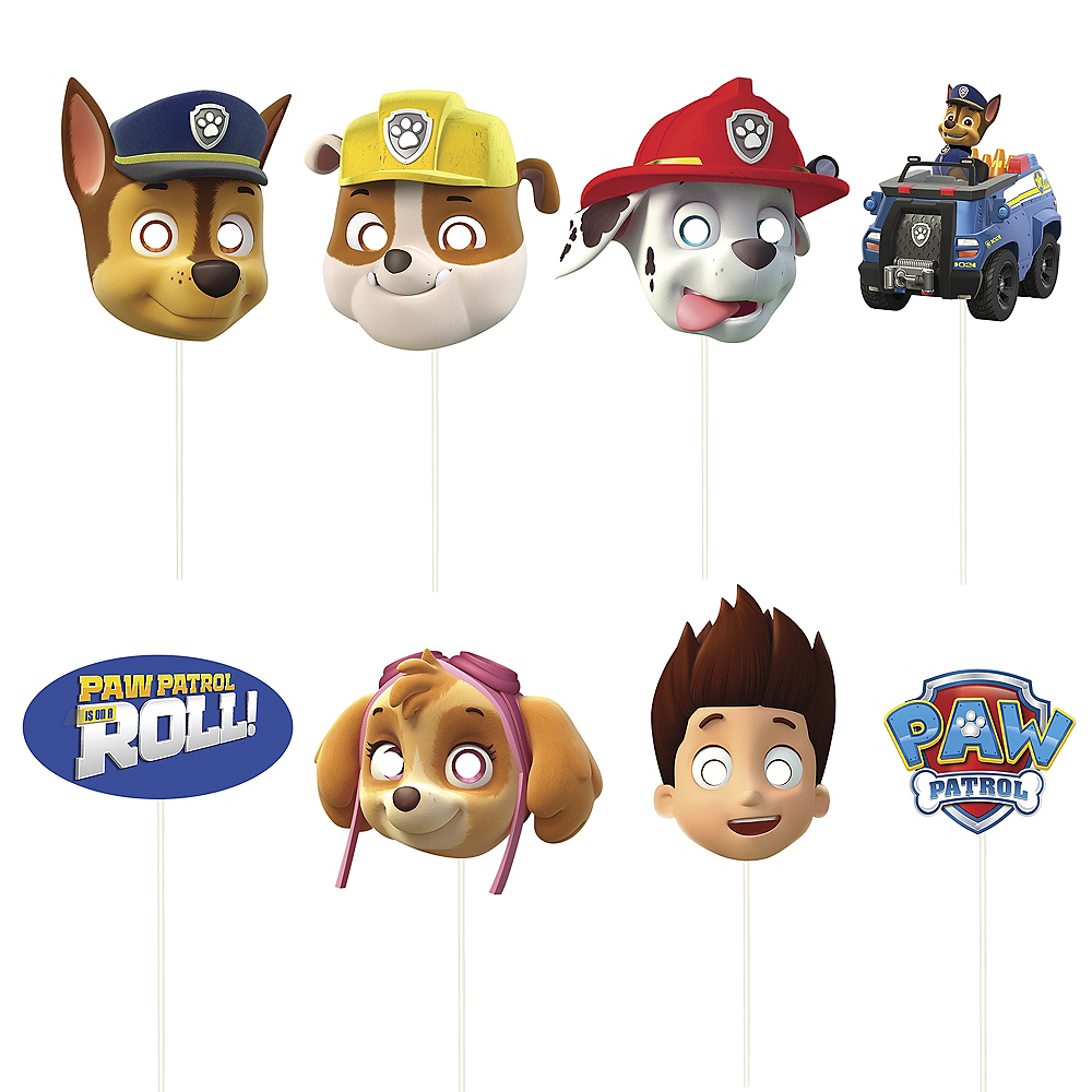 PAW Patrol Scene Setter with Photo Booth Props Image #3
