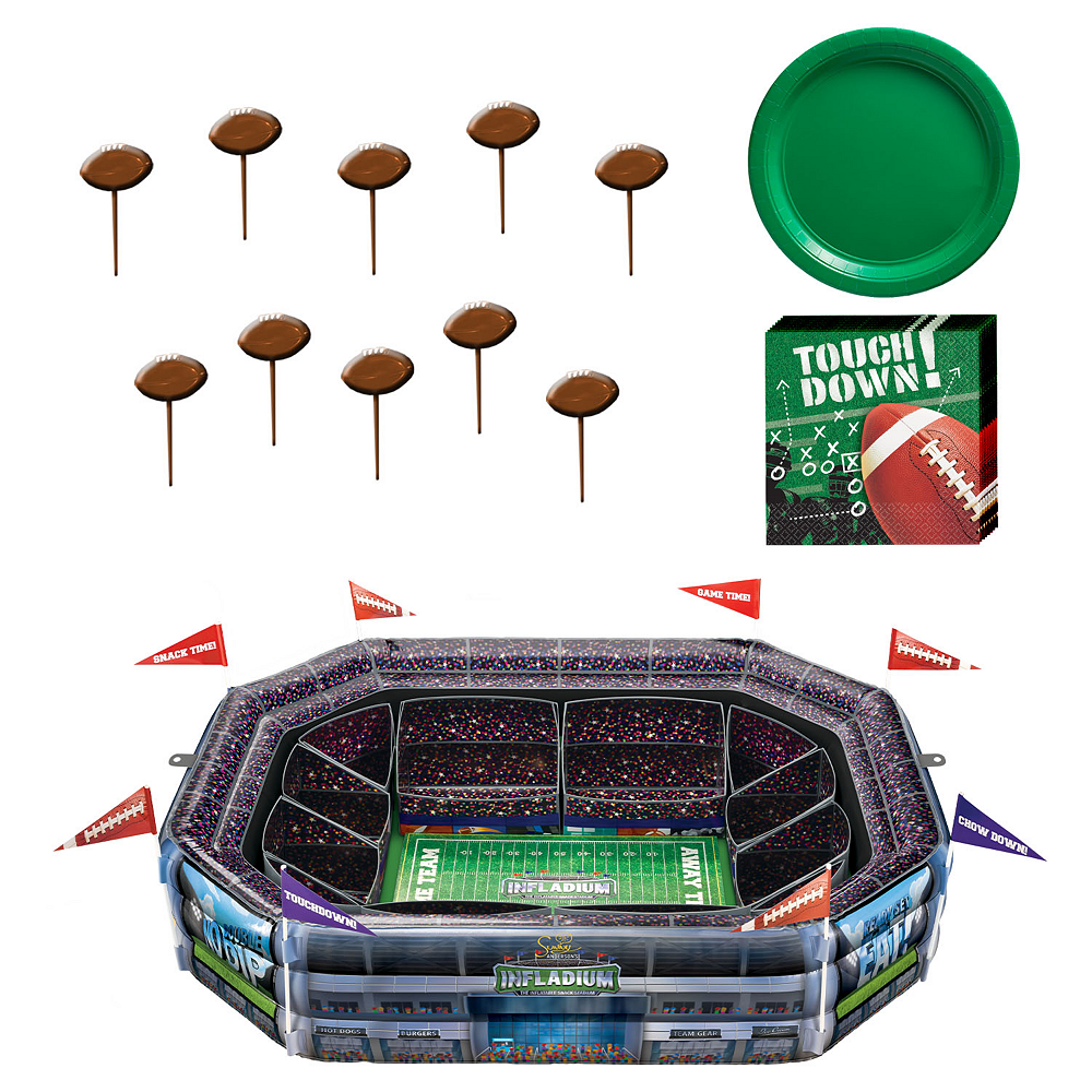 Sunny Anderson's Infladium™: The Inflatable Snack Stadium Kit Image #1
