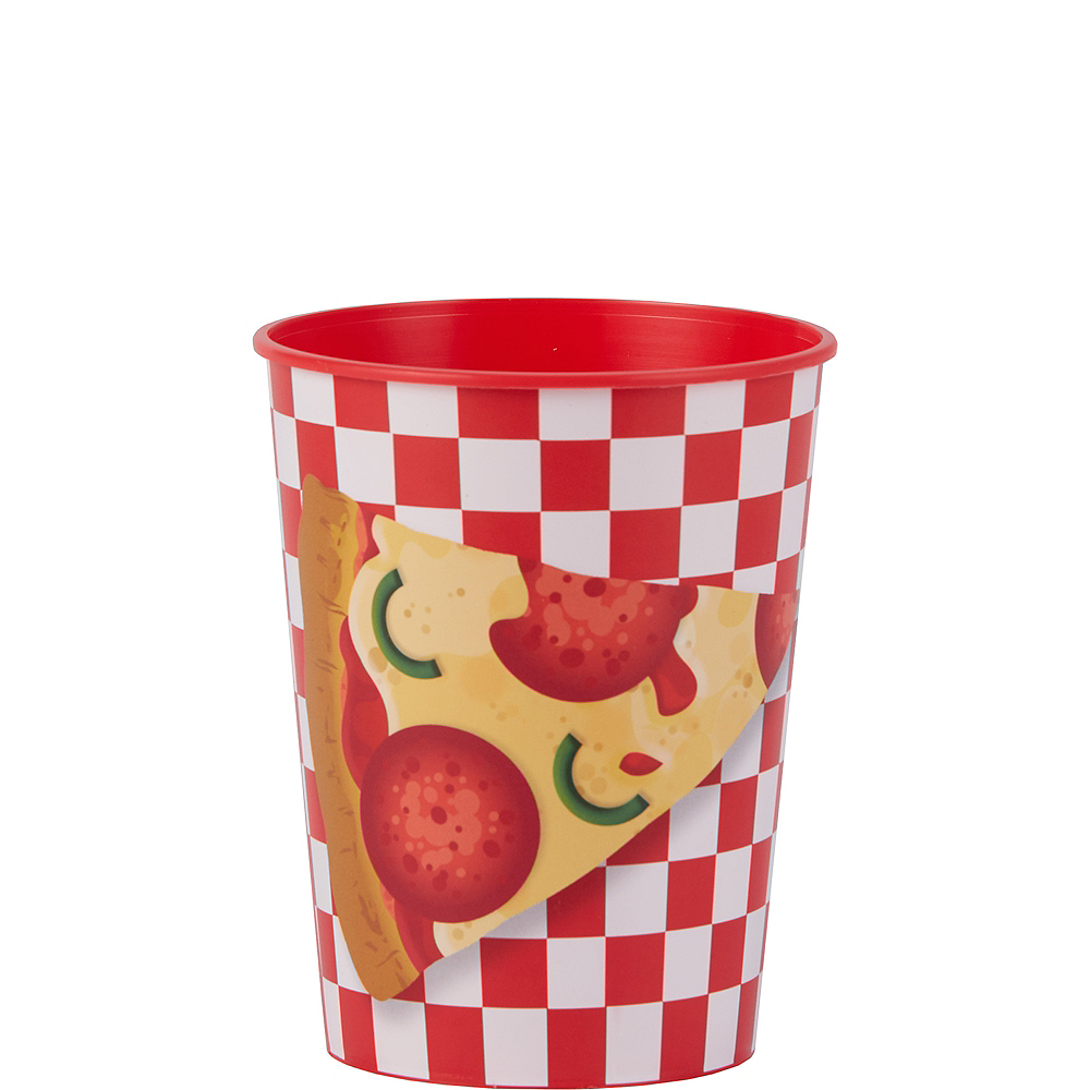 Pizza Party Favor Cup Image #1