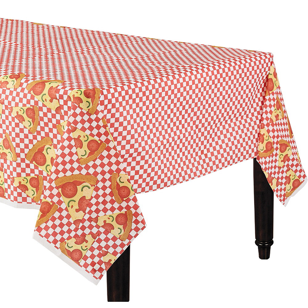 Pizza Party Table Cover Image #1