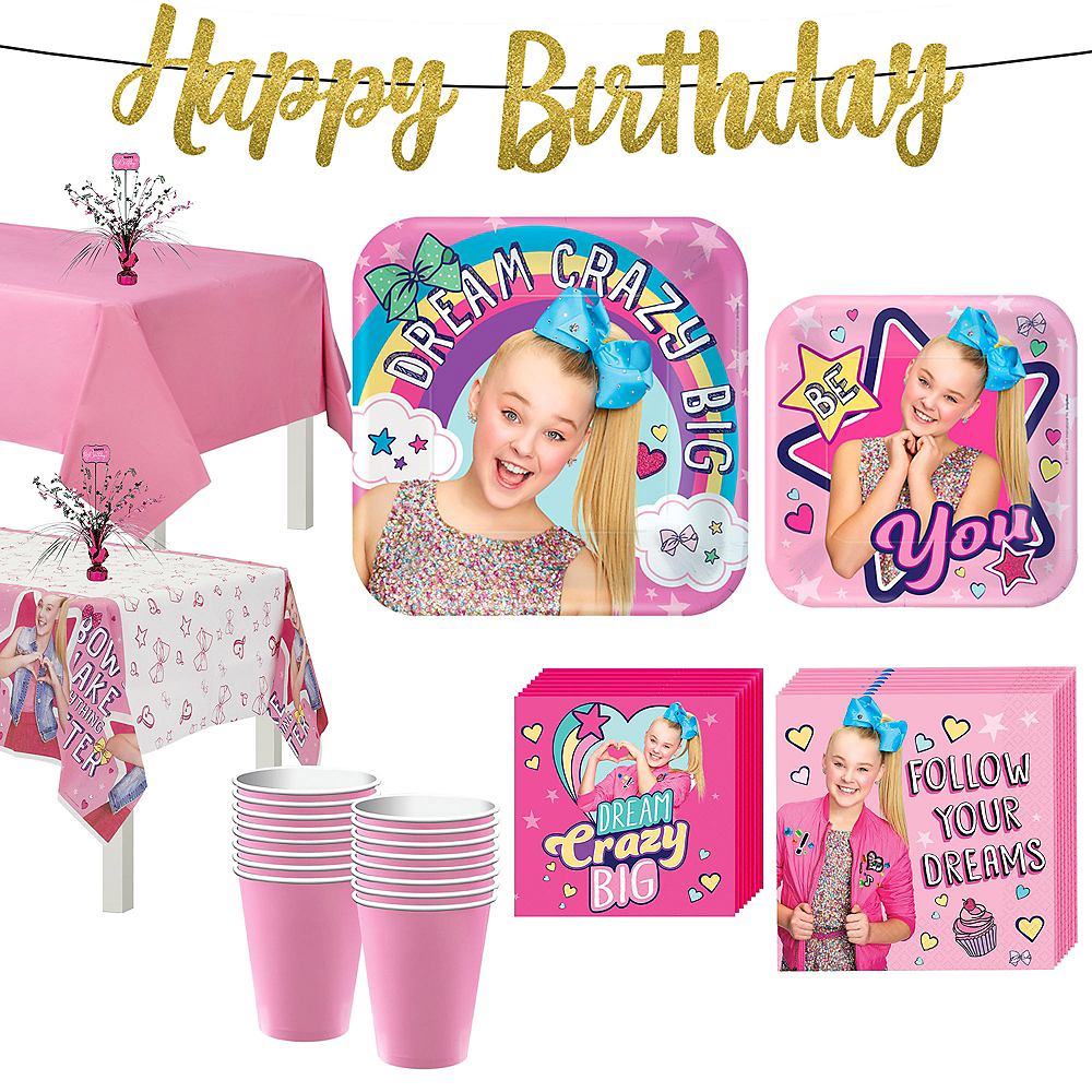 JoJo Siwa Basic Party Kit for 16 Guests | Party City Canada