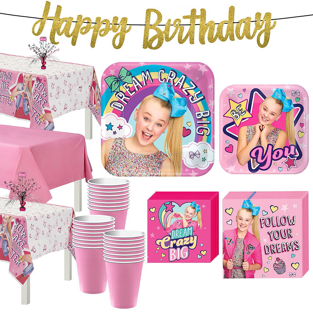 JoJo Siwa Basic Party Kit For 24 Guests Image 1